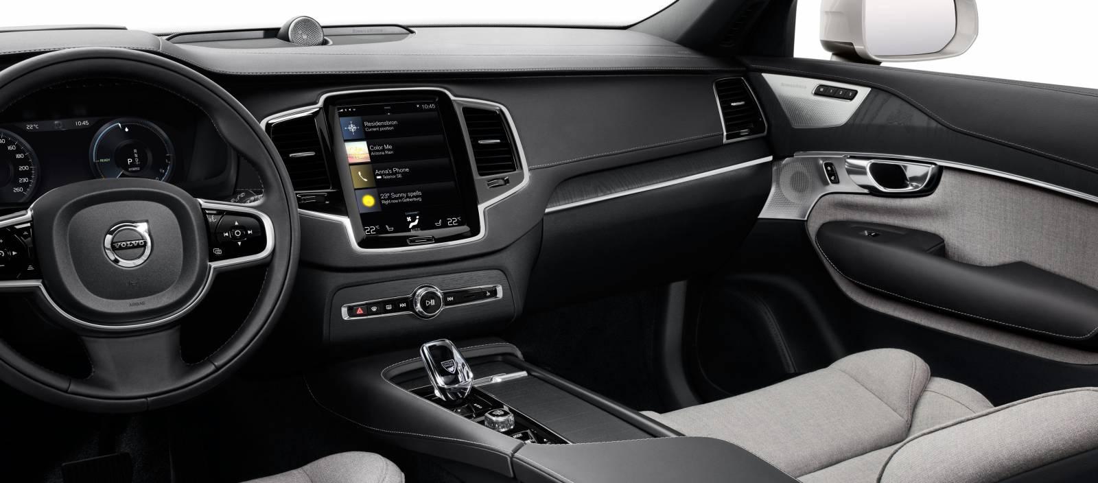 Interiér Volvo XC90